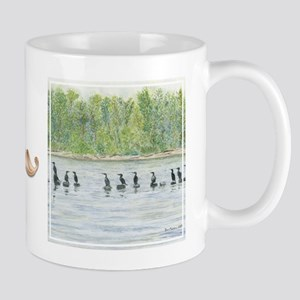"bkArt ""cormorants"" Mug"