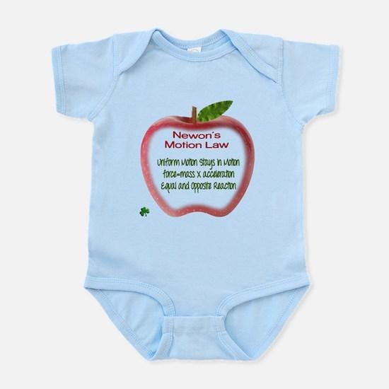 Newton's Motion Laws Infant Bodysuit