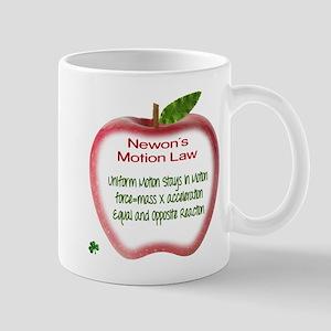 Newton's Motion Laws Mug