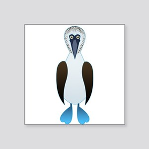 "Booby Square Sticker 3"" x 3"""