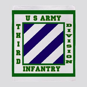 3rd ID Throw Blanket