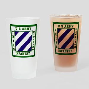 3rd ID Drinking Glass