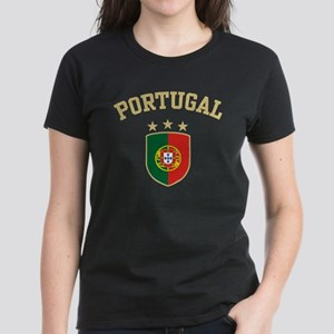 Portugal Women's Dark T-Shirt