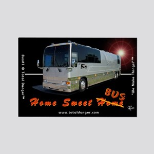 Tour Swag - Bus #1 Rectangle Magnet