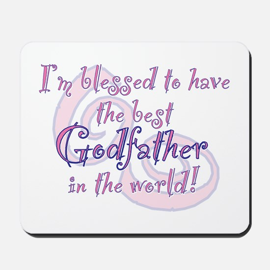 Blessed Godfather PK Mousepad