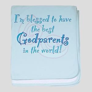 Blessed Godparent BL baby blanket