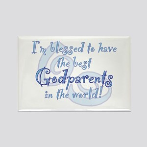 Blessed Godparent BL Rectangle Magnet