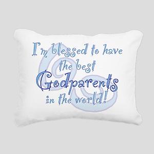 Blessed Godparent BL Rectangular Canvas Pillow