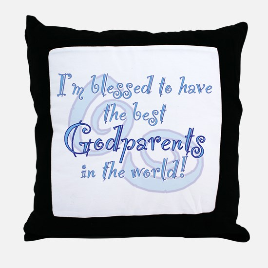 Blessed Godparent BL Throw Pillow