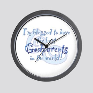 Blessed Godparent BL Wall Clock