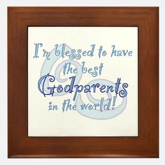Blessed Godparent BL Framed Tile