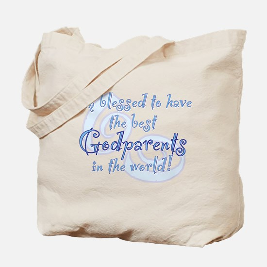 Blessed Godparent BL Tote Bag