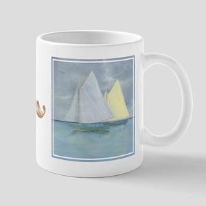 """bkArt """"Sail On"""" Mug"""