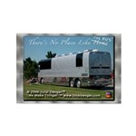 Tour Swag - Bus #2 Rectangle Magnet (100 pack)