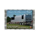 Tour Swag - Bus #2 Rectangle Magnet