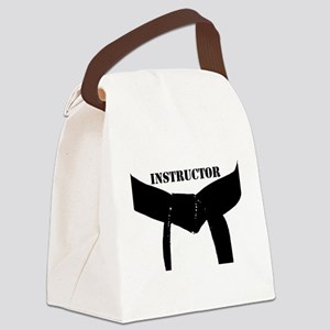 Martial Arts Instructor Canvas Lunch Bag