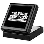 From New York Will Hit You Keepsake Box