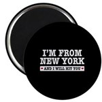 From New York Will Hit You Magnet