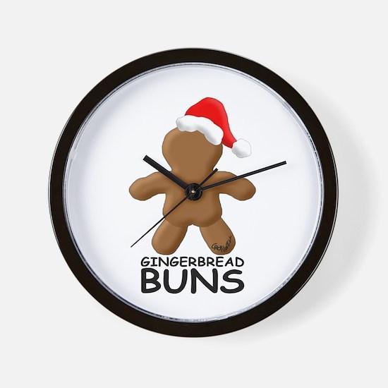 Buns Wall Clock