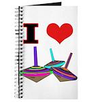 I Love Tops Journal