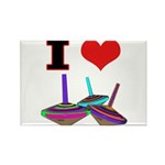 I Love Tops Rectangle Magnet (100 pack)
