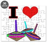 I Love Tops Puzzle