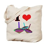 I Love Tops Tote Bag