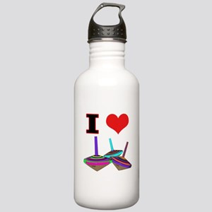 I Love Tops Stainless Water Bottle 1.0L