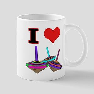 I Love Tops Mug