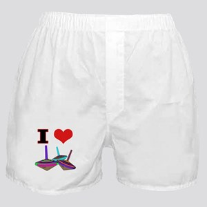 I Love Tops Boxer Shorts