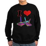 I Love Tops Sweatshirt (dark)