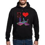 I Love Tops Hoodie (dark)