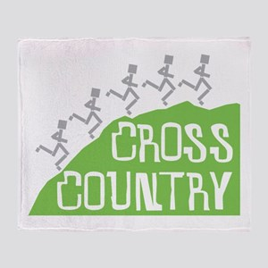 Cross Country Runners Throw Blanket