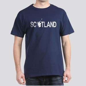 Scotland Map 1 Dark T-Shirt