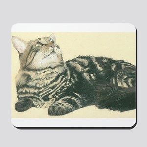 maine.coon Mousepad