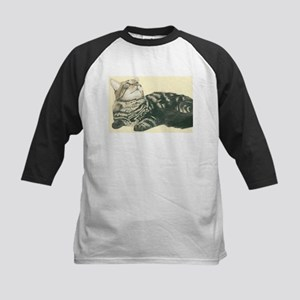 maine.coon Kids Baseball Jersey
