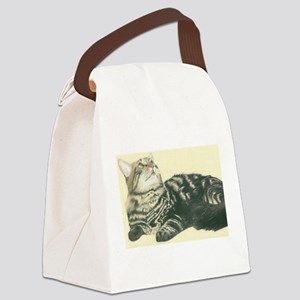 maine.coon Canvas Lunch Bag