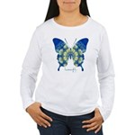 Samadhi Butterfly Women's Long Sleeve T-Shirt