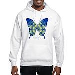 Samadhi Butterfly Hooded Sweatshirt