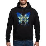 Samadhi Butterfly Hoodie (dark)