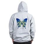 Samadhi Butterfly B Zip Hoodie