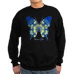Samadhi Butterfly Sweatshirt (dark)