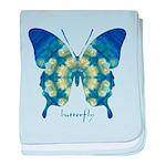 Samadhi Butterfly baby blanket
