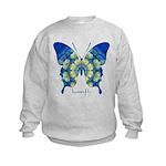 Samadhi Butterfly Kids Sweatshirt