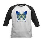 Samadhi Butterfly Kids Baseball Jersey