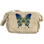 Samadhi Butterfly Messenger Bag