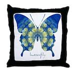 Samadhi Butterfly Throw Pillow