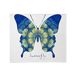 Samadhi Butterfly Throw Blanket