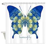 Samadhi Butterfly Shower Curtain
