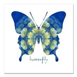 Samadhi Butterfly Square Car Magnet 3